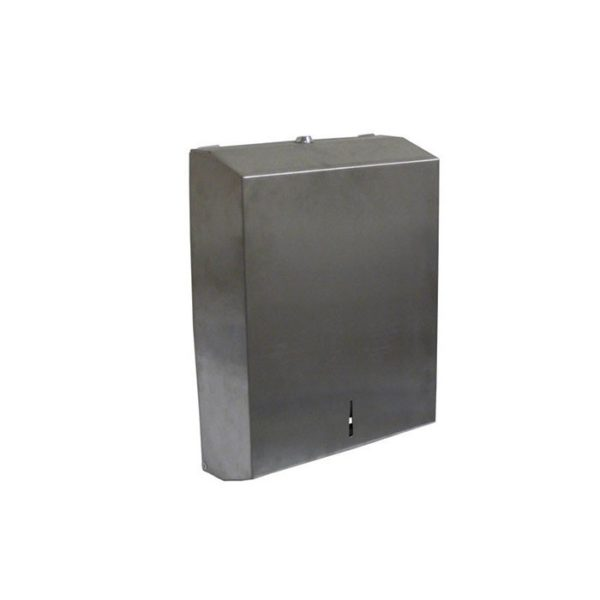Hand Roll Towel Dispenser Stainless Steel With Key