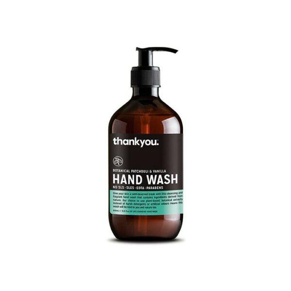 Hand Wash Botanical Patchouli Vanilla Ml