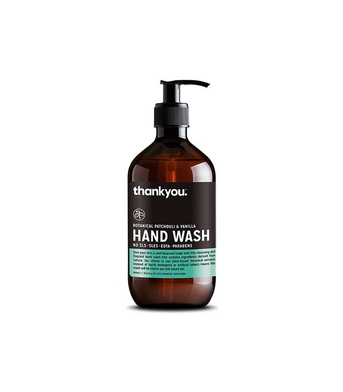 Hand Wash Botanical Patchouli Vanilla Ml