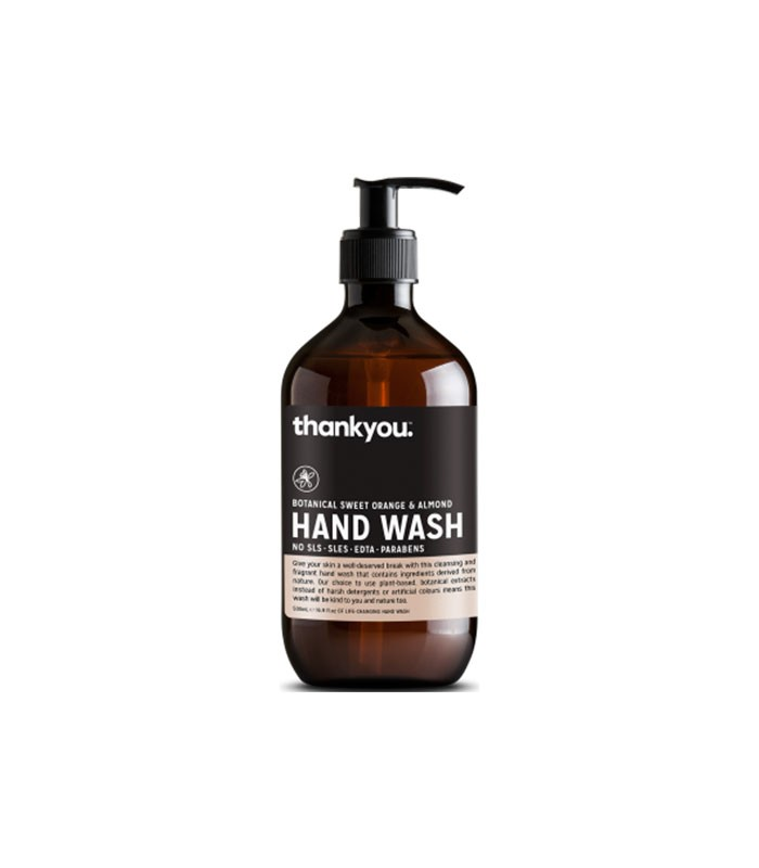 Hand Wash Botanical Sweet Orange Almond