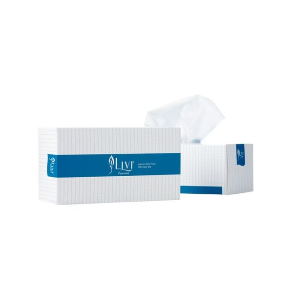 Livi Essentials Facial Tissues Ply S Boxes