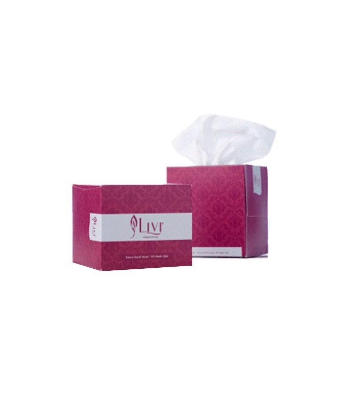 Livi Impressa Facial Tissues Ply S Cubes