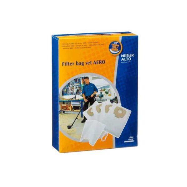 Nilfisk Filter Bag Set For Aero Vacuum