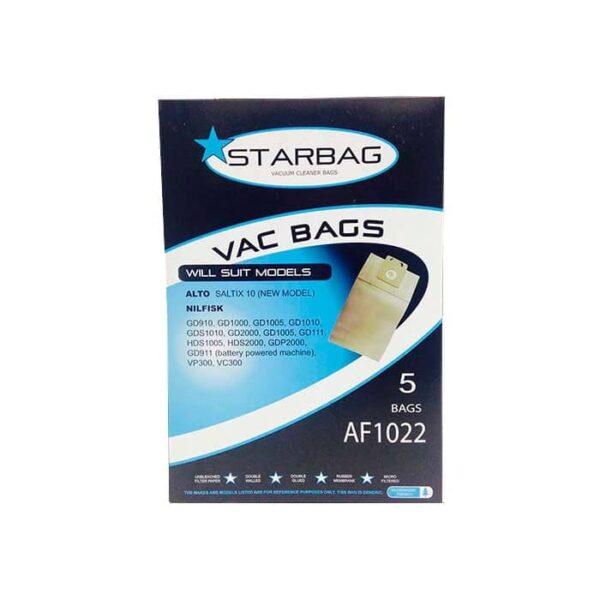 Nilfisk Vp Paper Bags Pack Af