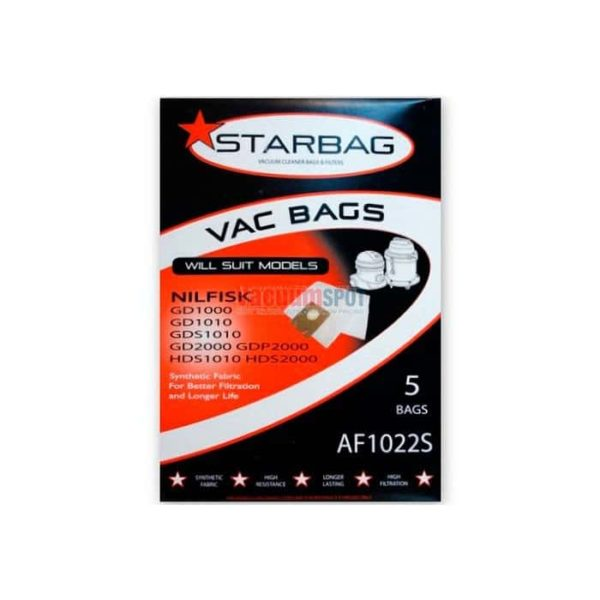 Nilfisk Vp Synthetic Fabric Bags  Pk AfS