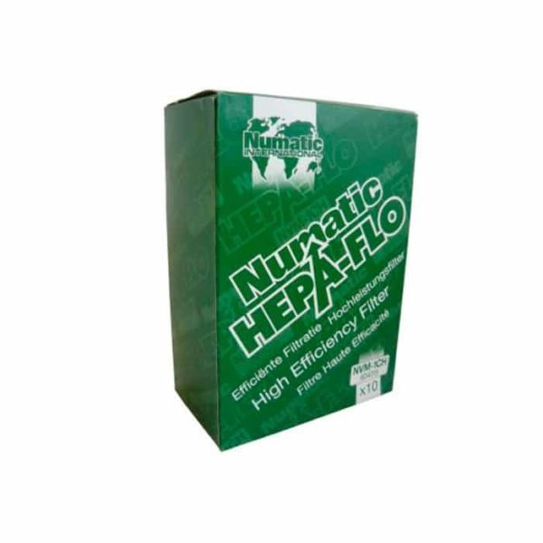 Numatic Hepa Flo Filter Bags Nvm Ch  Pack Of
