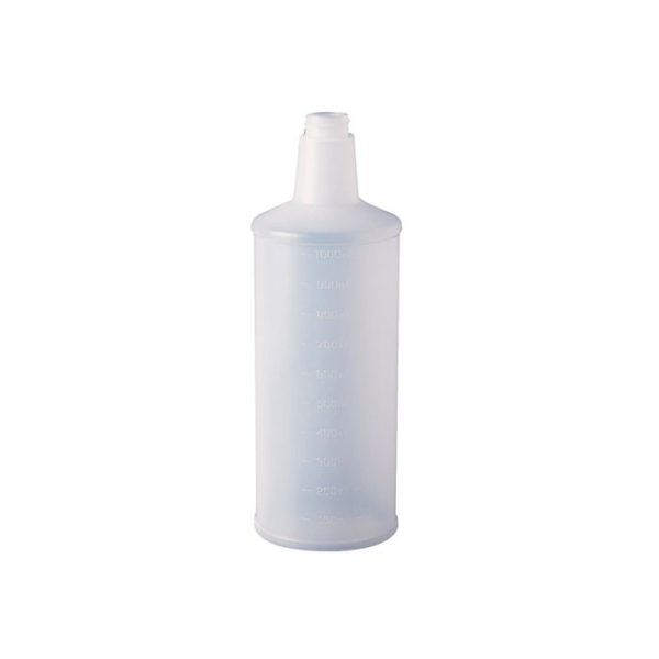 Oates  L Clear Bottle With Measurements Pb