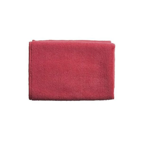 Oates General Purpose Microfibre Cloth Cm X Cm Red
