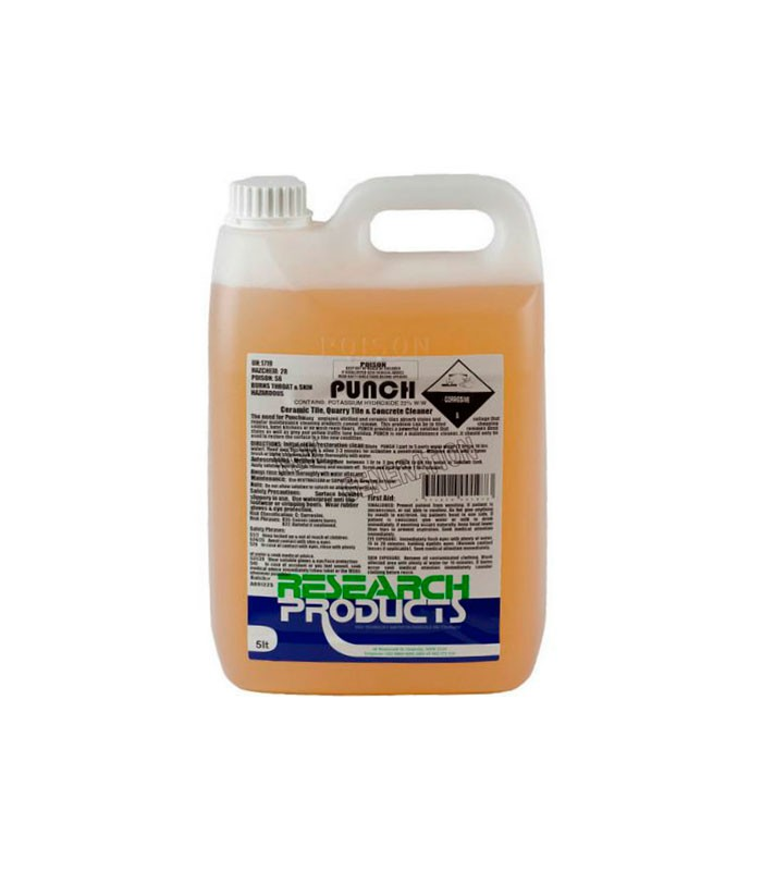Punch L Tile And Concrete Cleaner