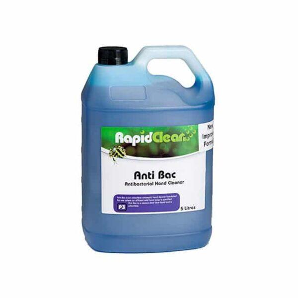 Rapidclean Anti Bac Hand Cleaner L