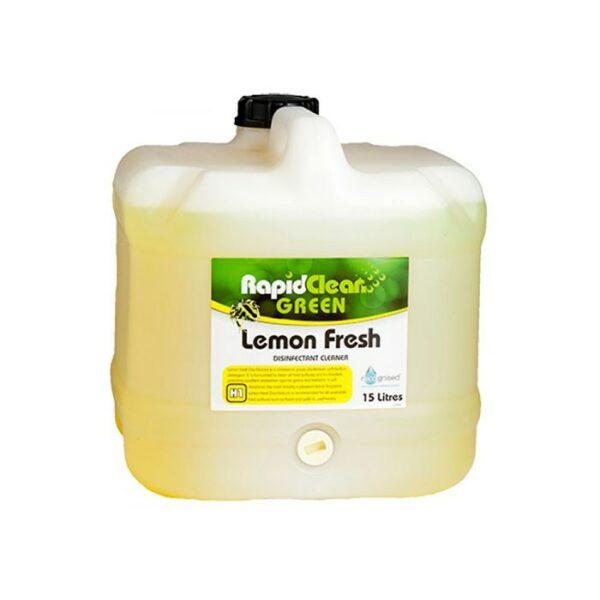 Rapidclean Lemon Fresh Disinfectant L