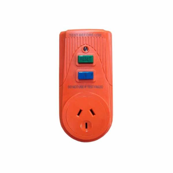 Residual Current Detector With Plug Rcd A