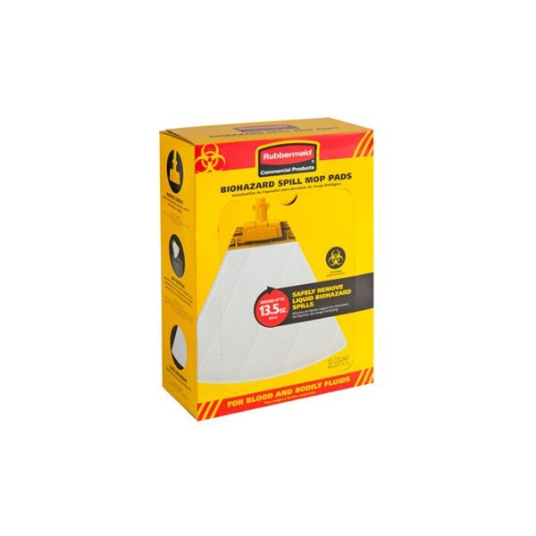 Rubbermaid Biohazard Spill Mop  Pack
