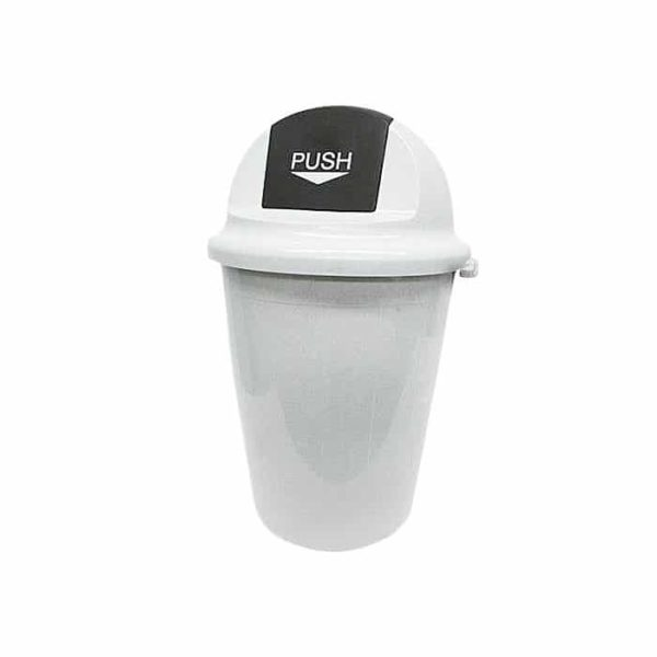 SWING LID  LT RUBBISH BIN