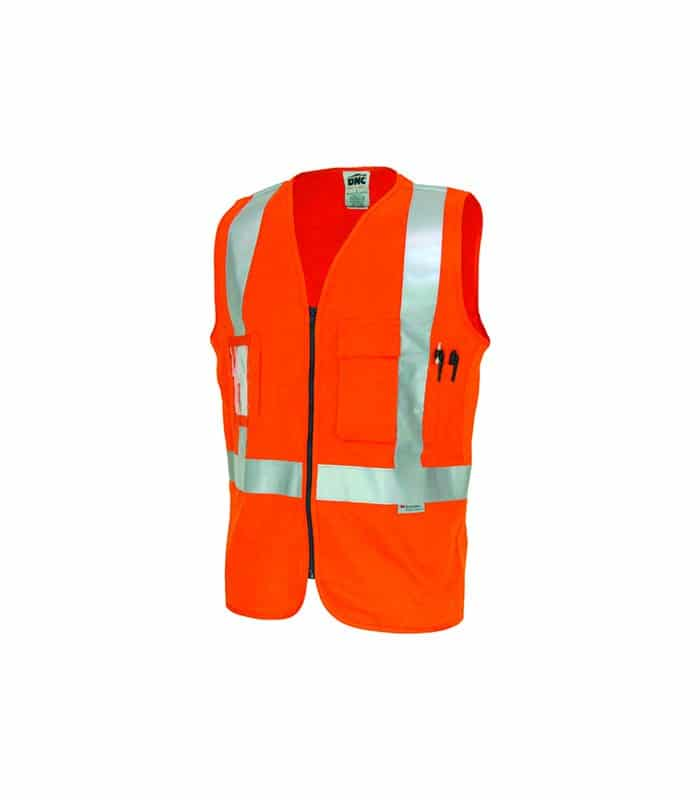 Safety Vest Day Night Use Large