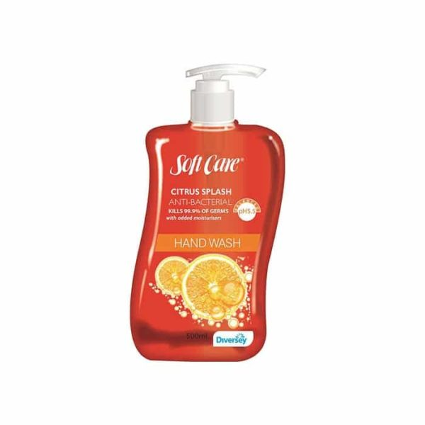Soft Care Citrus Splash Anti Bacterial Hand Wash Ml