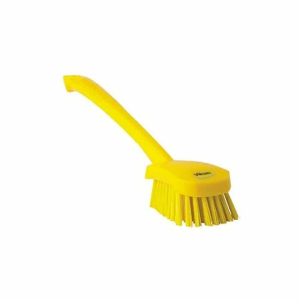 Vikan Long Handled Churn Brush Soft
