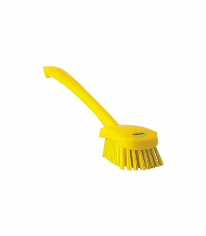 Vikan Long Handled Churn Brush Soft