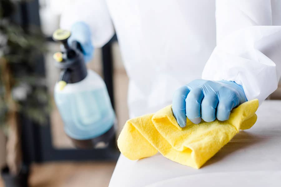 What to consider when choosing disinfectants