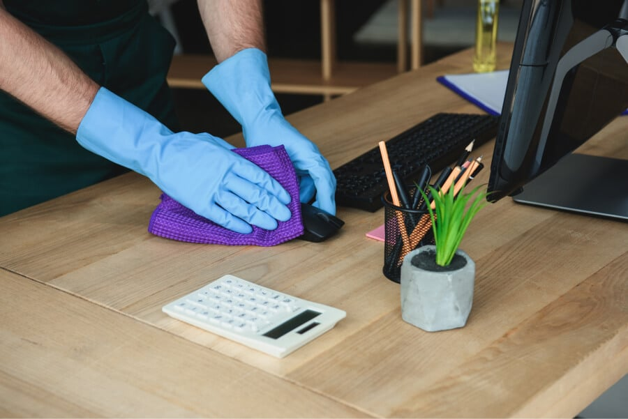 The Basic Cleaning Supplies Every Office Should Have